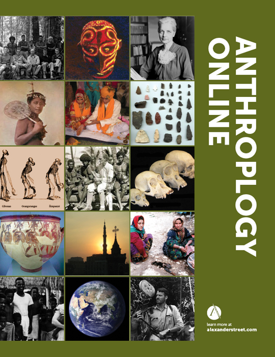 Anthropology Online Brochure Cover