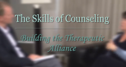 Building the Therapeutic Alliance