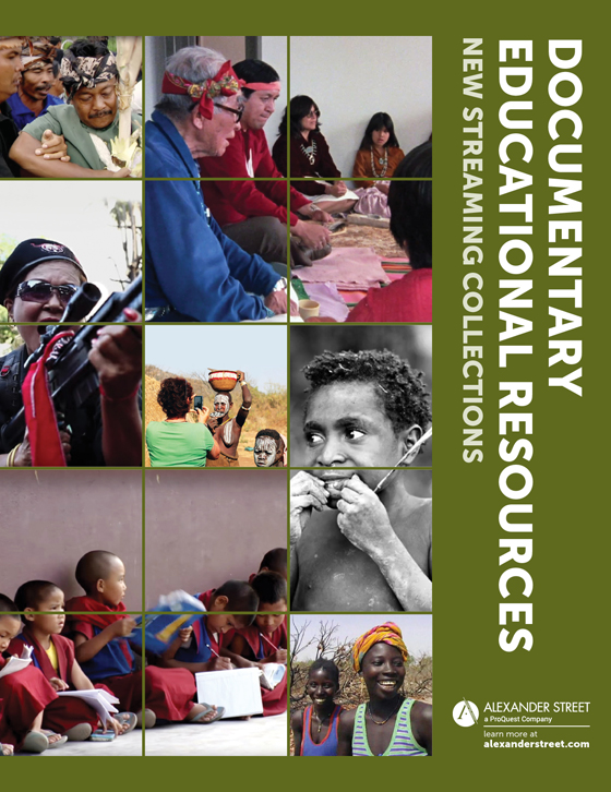 Documentary Educational Resources Brochure Cover