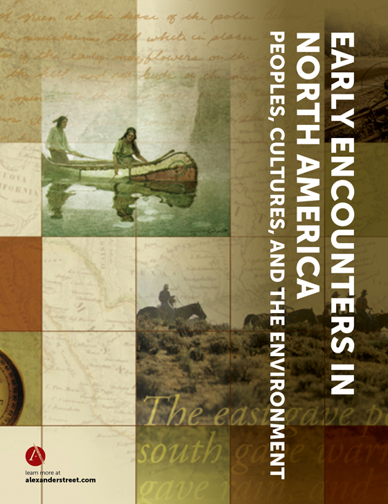 Early Encounters in North America Brochure Cover