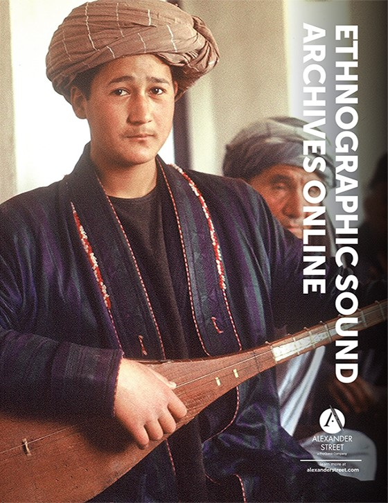Ethnographic Sound Archives Online Brochure Cover