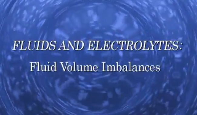 Fluid Volume Imbalances
