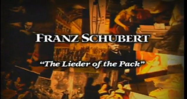 Franz Schubert: Lieder of the Pack