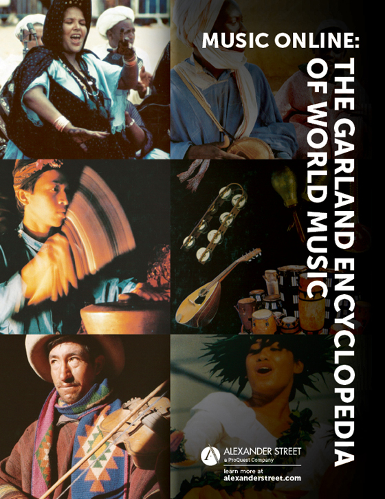 Browse Music Online: Garland Encyclopedia of World Music Content