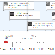 Browse the Newsreel Timeline
