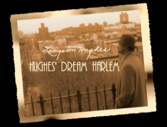 Hughes' Dream Harlem