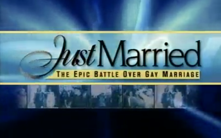 Featured Content:Just Married: The Epic Battle Over Gay Marriage
