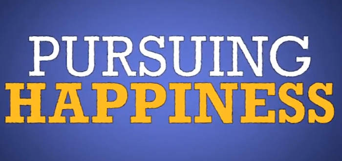 Weekend Watching: Pursuing Happiness