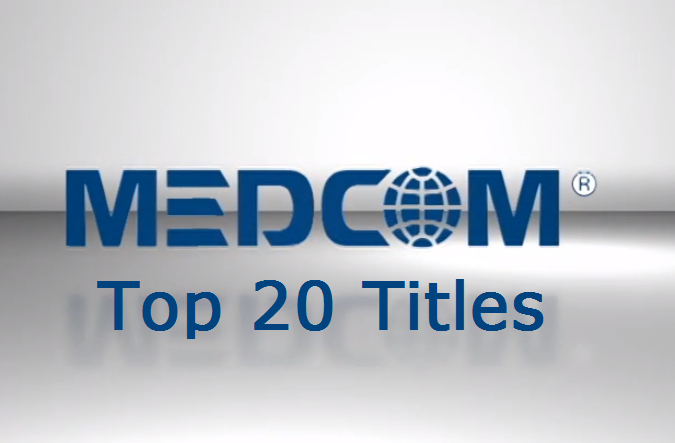 Medcom Top 20 Used Titles