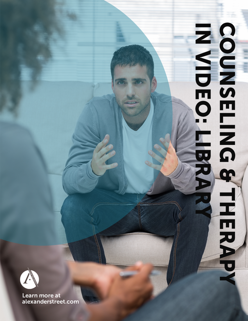 Counseling & Therapy in Video: Library Brochure Cover