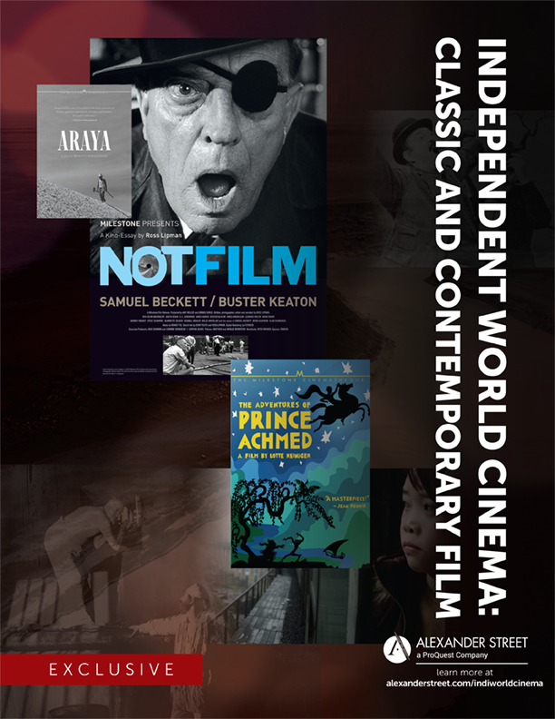 Independent World Cinema: Classic and Contemporary Film Brochure Cover