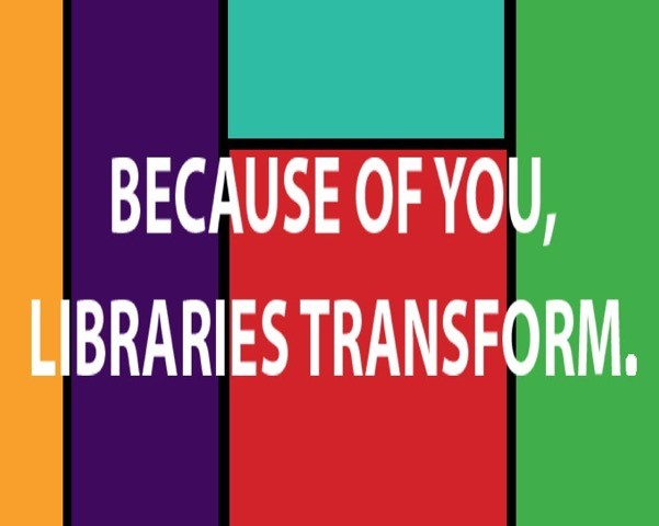 because of you libraries transform