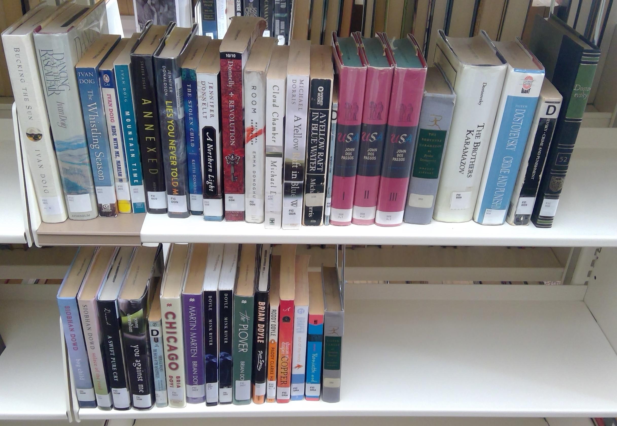 FIC Shelf 10