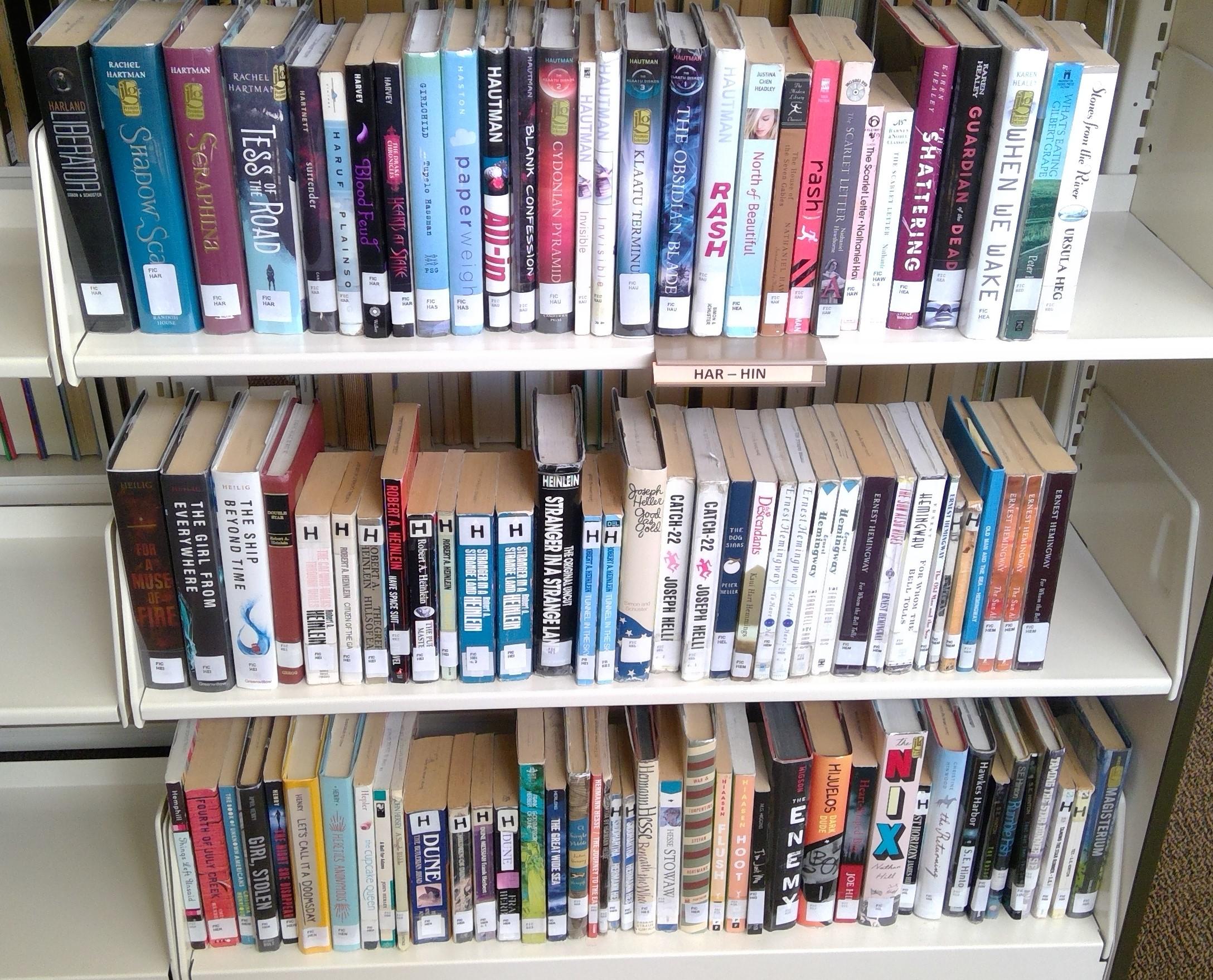 FIC Shelf 16