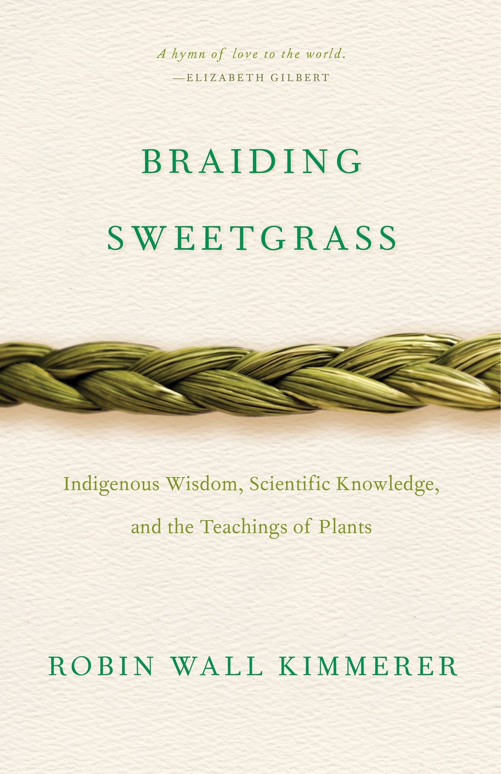 Braiding Sweetgras