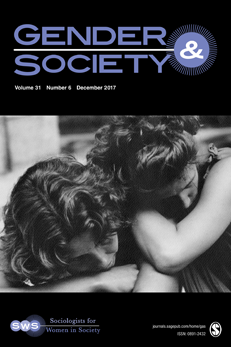Gender & Society journal cover image