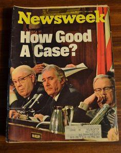 Newsweek Cover 1974