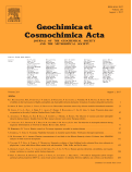Geochemica et Cosmochimica Acta cover