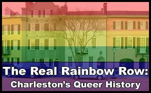 """The Real Rainbow Row"" logo"