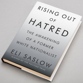 Photograph of book, Rising Out of Hatred