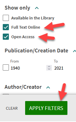 Screenshot showing the above directions with extra red arrows pointing to where you're supposed to click.