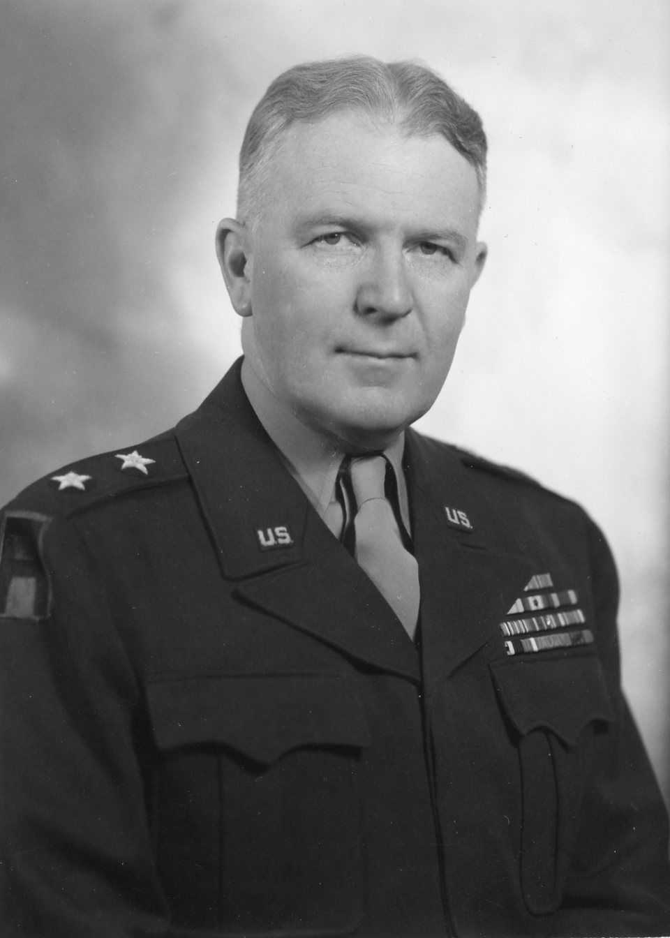 Jim Dan Hill in uniform.