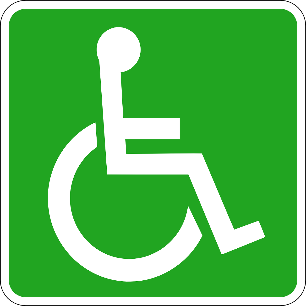 Green Handicap Symbol