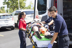 image of EMS personnel