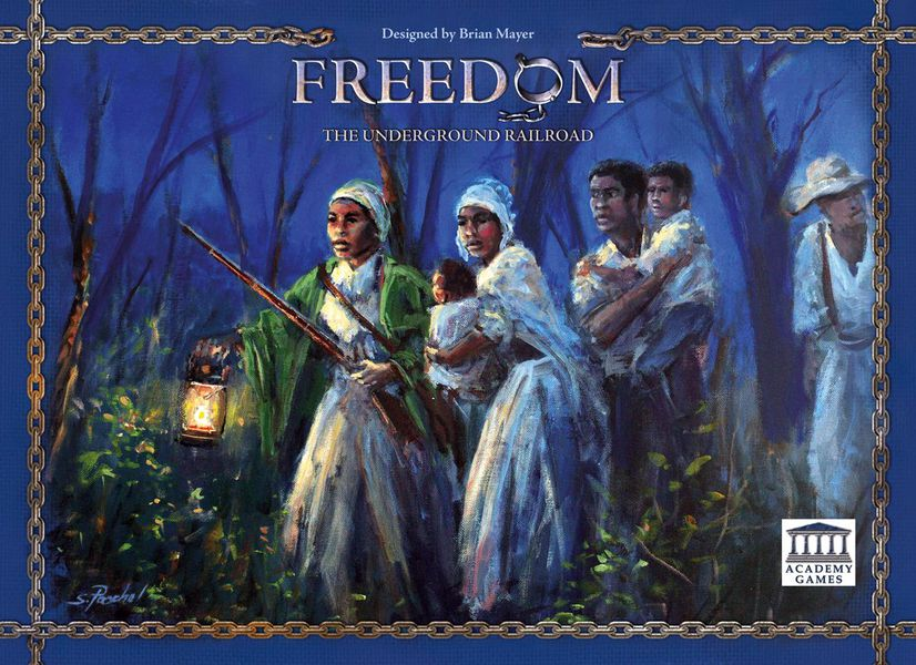 Freedom: The Underground Railroad cover art