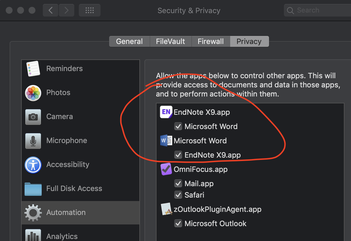 Mojave Security Screenshot