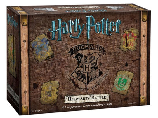 Box cover for Harry Potter Hogwarts Battle