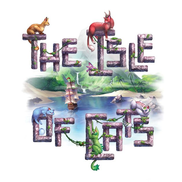 Box cover of Isle of Cats