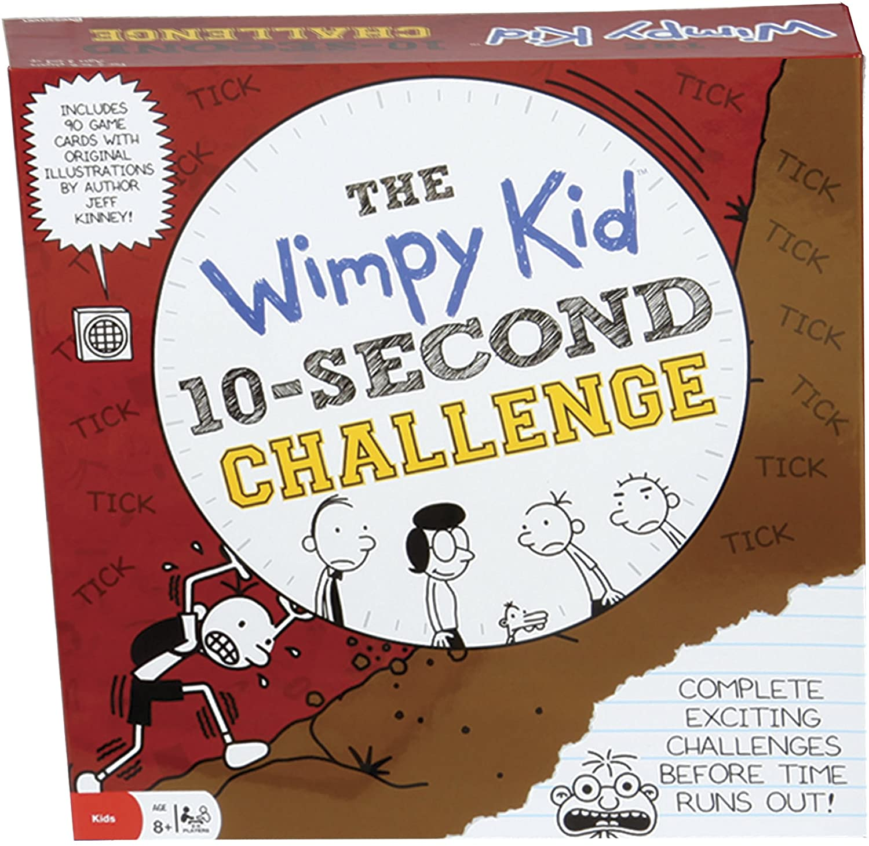 wimpy kid board game box