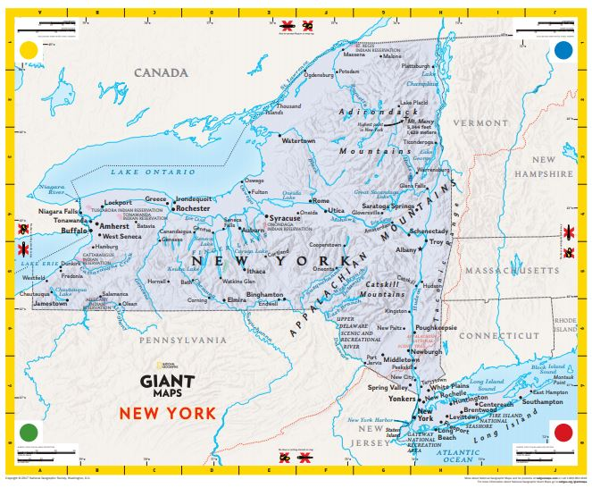 GIANT NYS Map