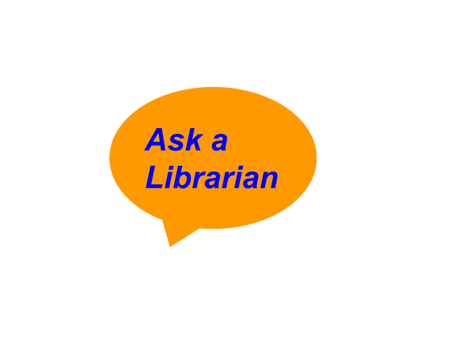 Ask a Librarian - virtual chat assistance
