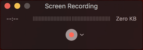 Screen Recording Pop-Up
