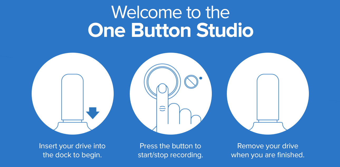 Welcome to the One Button Studio