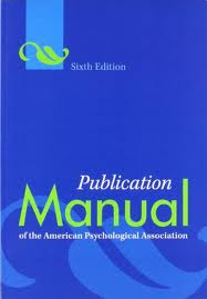 APA Manual Cover