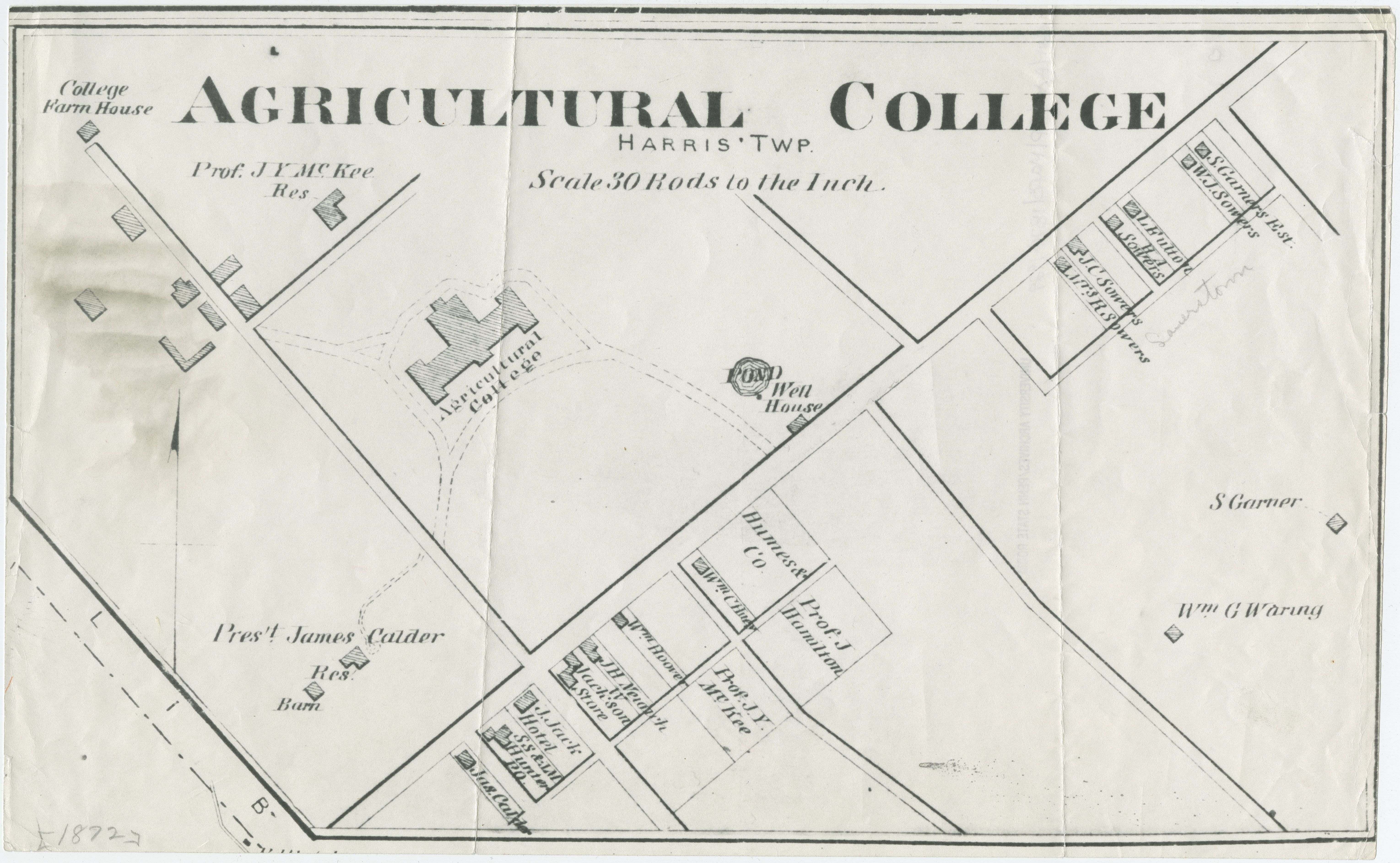 1874 PSU UP campus map
