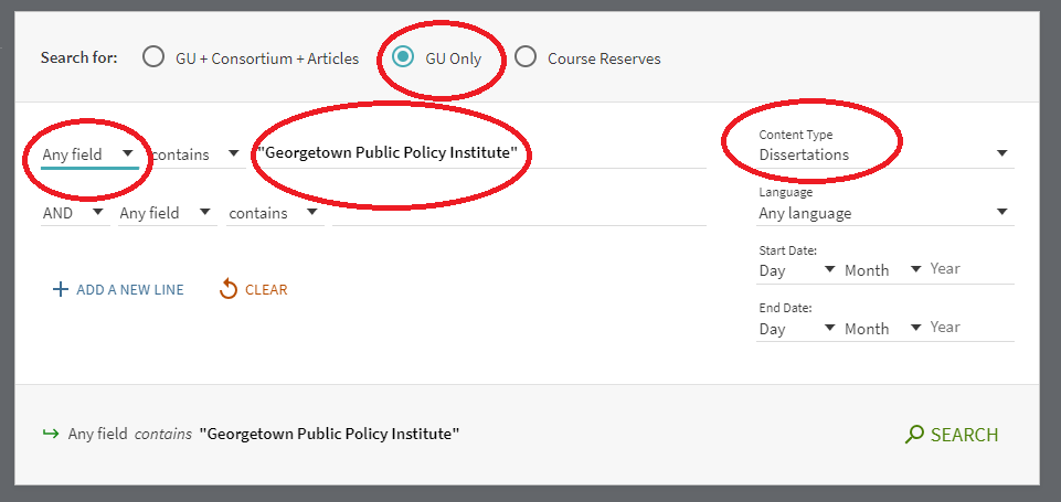 Public Policy dissertations in advanced search