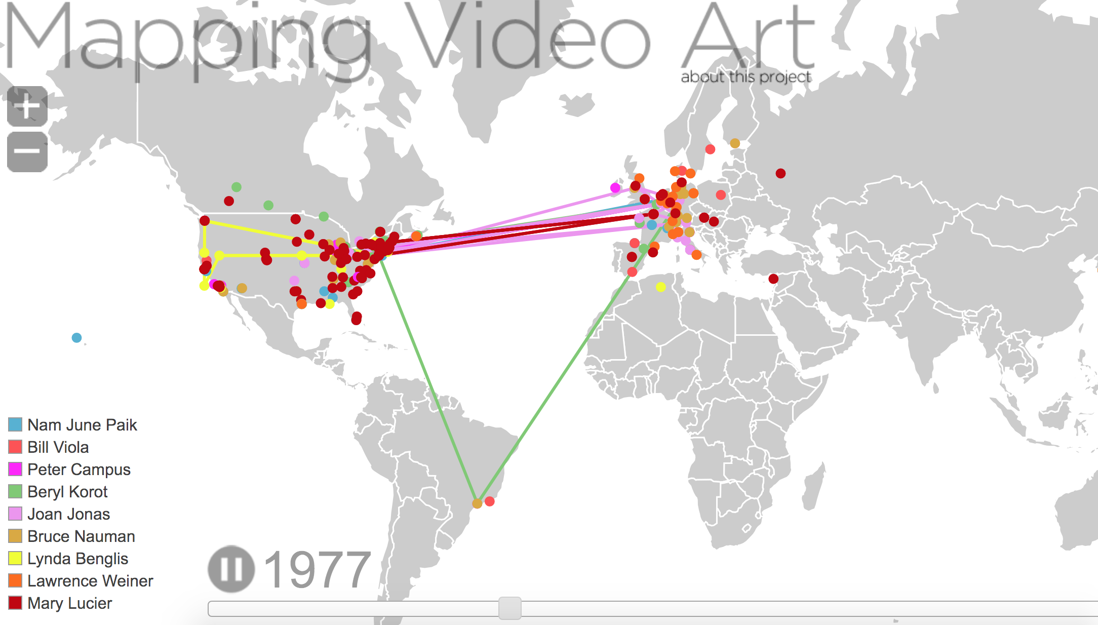 Mapping Video Art
