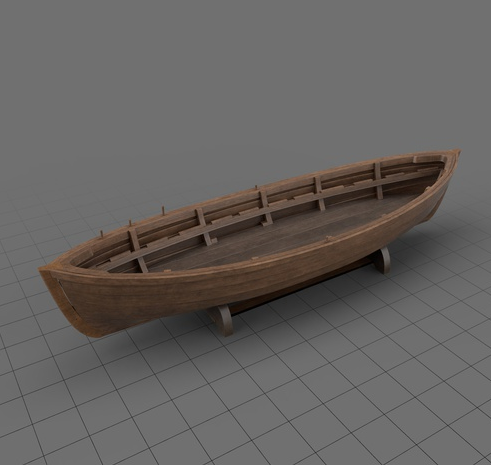 Wooden whaleboat