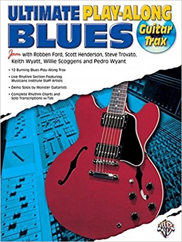 Ultimate Play-Along Guitar Trax Blues: Book & CD