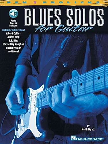 Blues Solos for Guitar (Reh Z Prolicks Series) Book & Online Audio