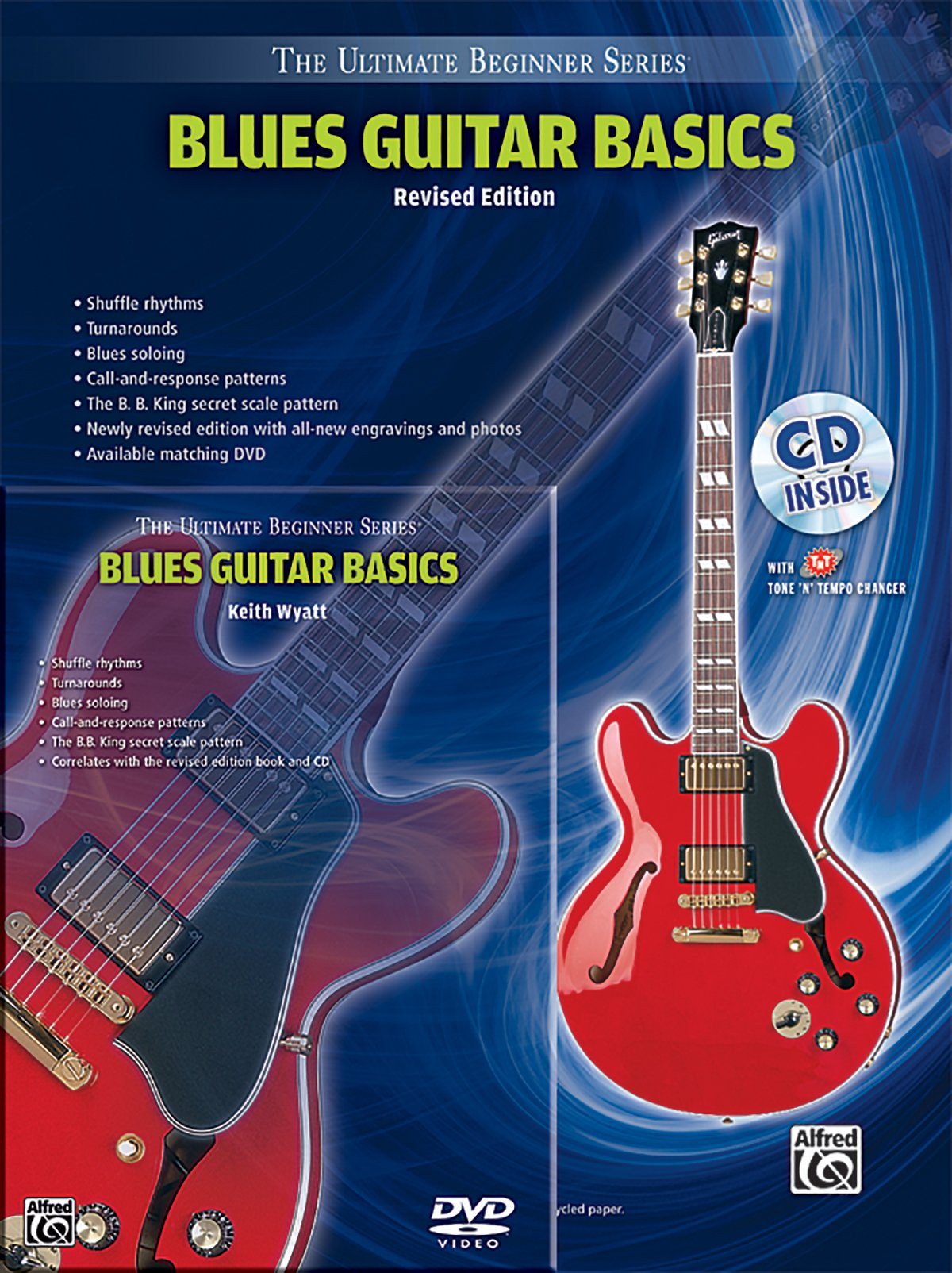 Ultimate Beginner Blues Guitar Basics Mega Pak: Book, CD & DVD (The Ultimate Beginner Series)