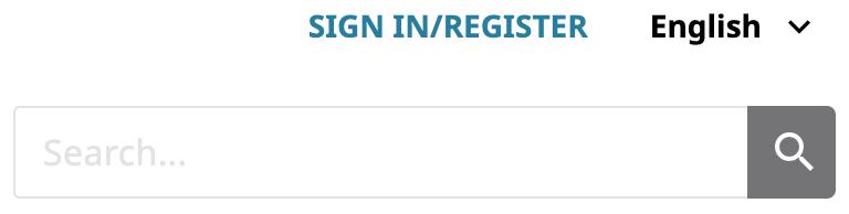 ORCID Sign In/Register