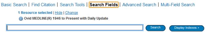 Medline - Search Fields