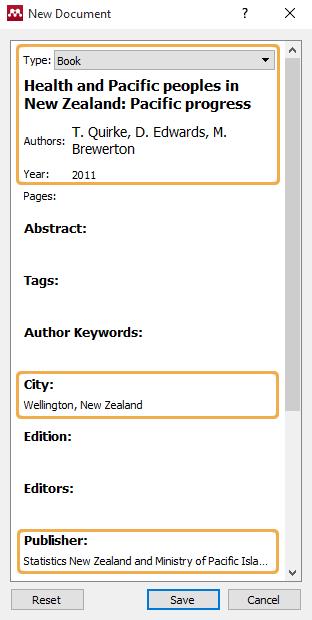 Manual entry - Print Report