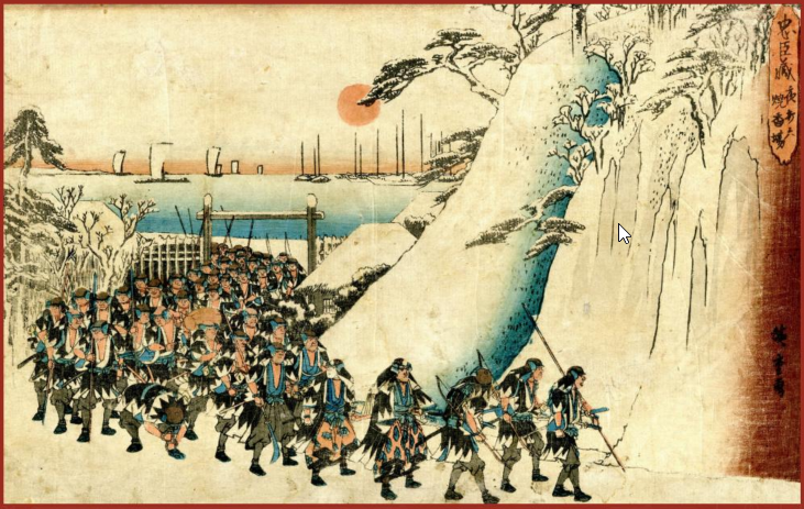 Hiroshige, The Forty-Seven Ronin