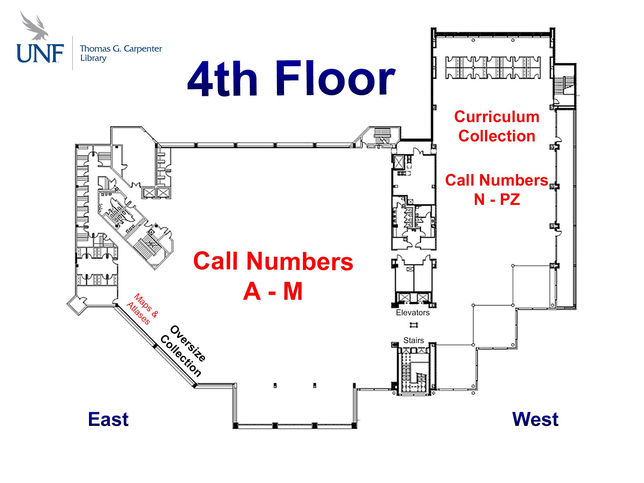 4th floor map